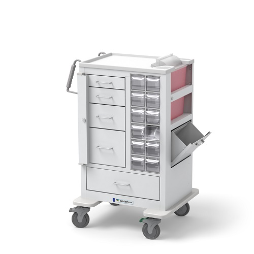 5-Drawer, Tall Phlebotomy Cart