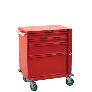 "24"" 4 Drawer V-Series Treatment and Procedure Cart"