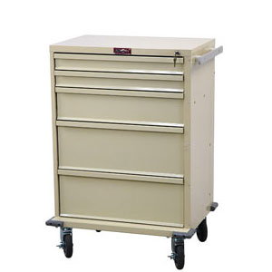 "30"" 5 Drawer V-Series Treatment and Procedure Cart"