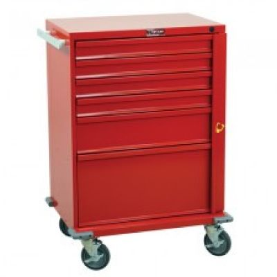 "30"" V-Series Tall 6-Drawer Crash Cart"
